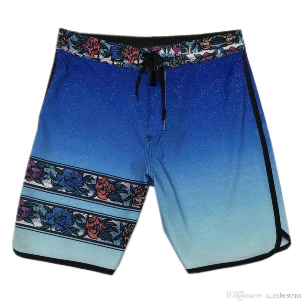 401d46c92c 2019 Elastane Spandex Beachshorts Mens Boardshorts Quick Dry Swim Trunks  Surf Pants Board Shorts Fashion Bermuda Shorts Male Casual Shorts 30 36 From  ...