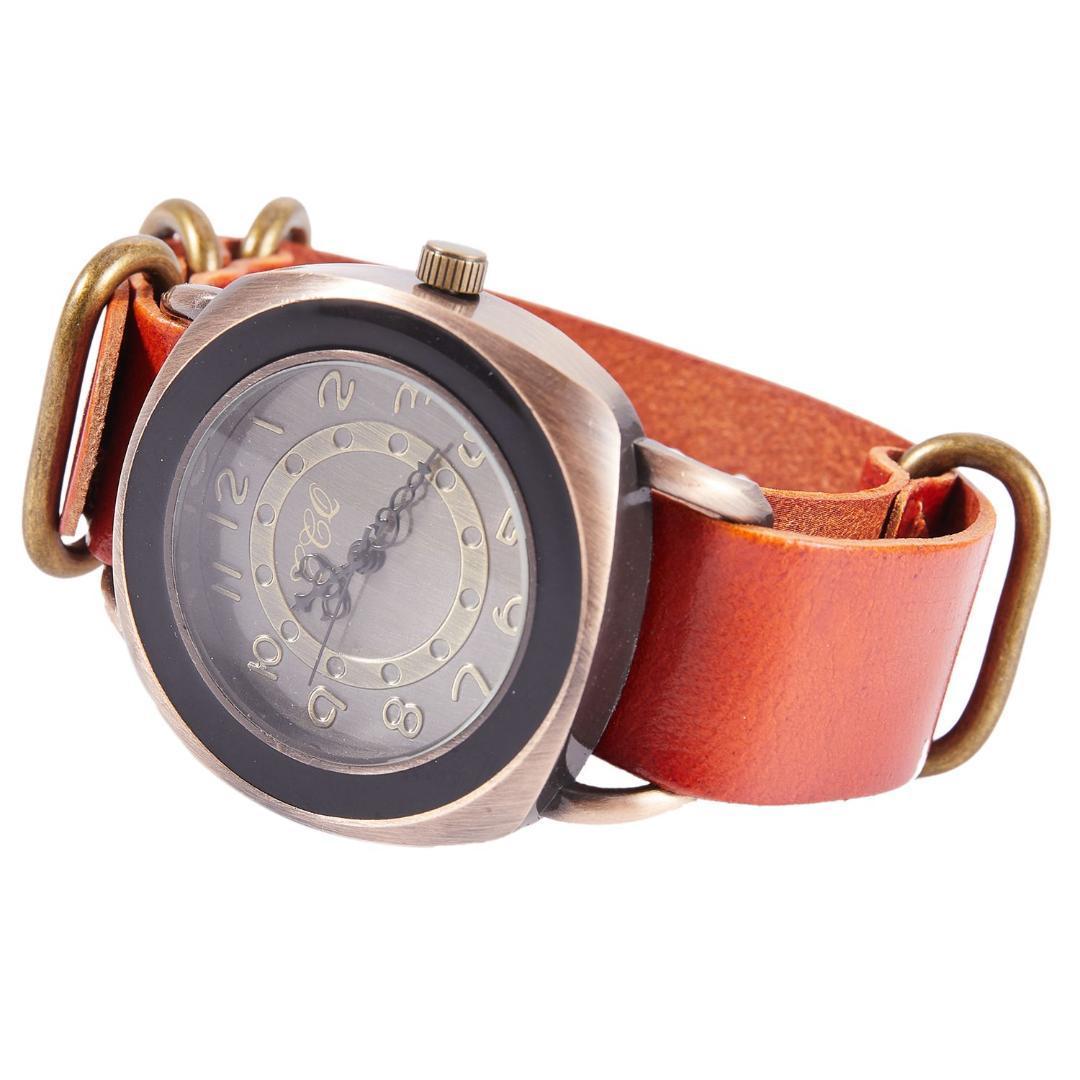 6a12f5d4ab4 Compre CCQ Marca Retro Pulseira De Couro De Vaca Do Vintage Relógio Das  Mulheres Casuais Relógio De Quartzo Senhoras Meninas Relógio De Pulso 1311  De ...