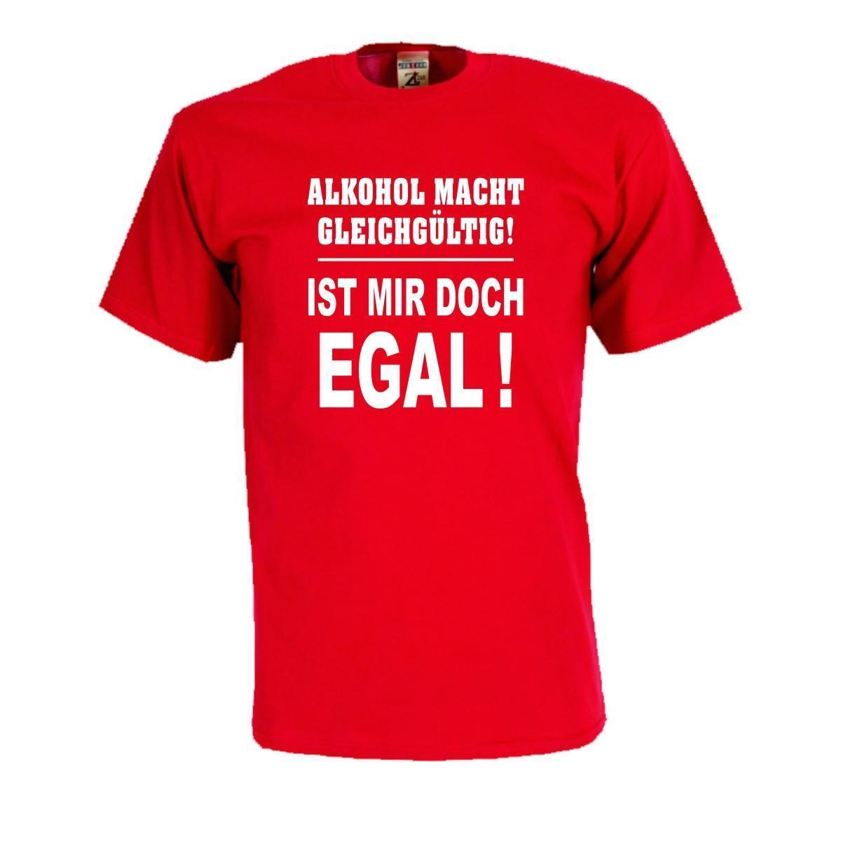Alkohol Macht Gleichgültig кул Funshirts Lustige Sprüche рубашки Fsb046смешные бесплатная доставка унисекс повседневная футболка