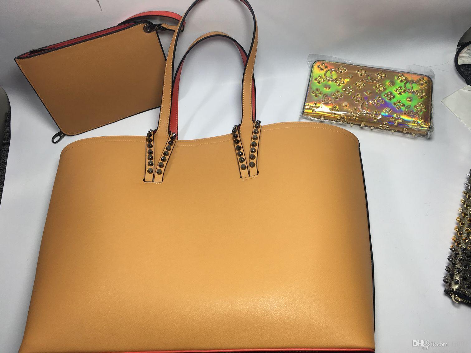 2020 bolsos de diseño de color Top bcabata totes el bolso compuesto famosa marca de cuero genuino debe monedero grandes bolsas