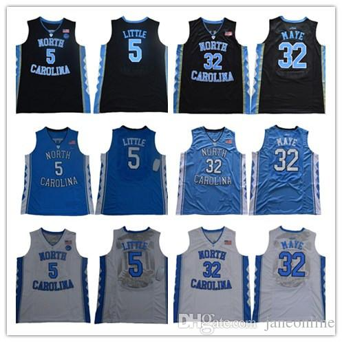 NCAA North Carolina Tar Heels College # 23 Michael 5 Nassir Little Mens 15 Carter 32 Luke Maye Barnes Vince 2019 UNC Pullover di pallacanestro