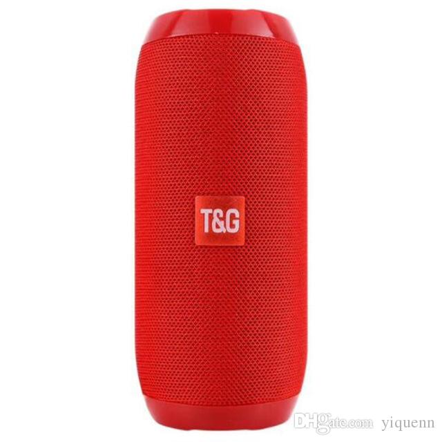 Consumer Electronics Tg117 Outdoor Bluetooth Speaker Portable Fabric Waterproof Sound Speaker Hifi Bass Stereo 3d Bluetooth Speaker For Call Phone Portable Speakers