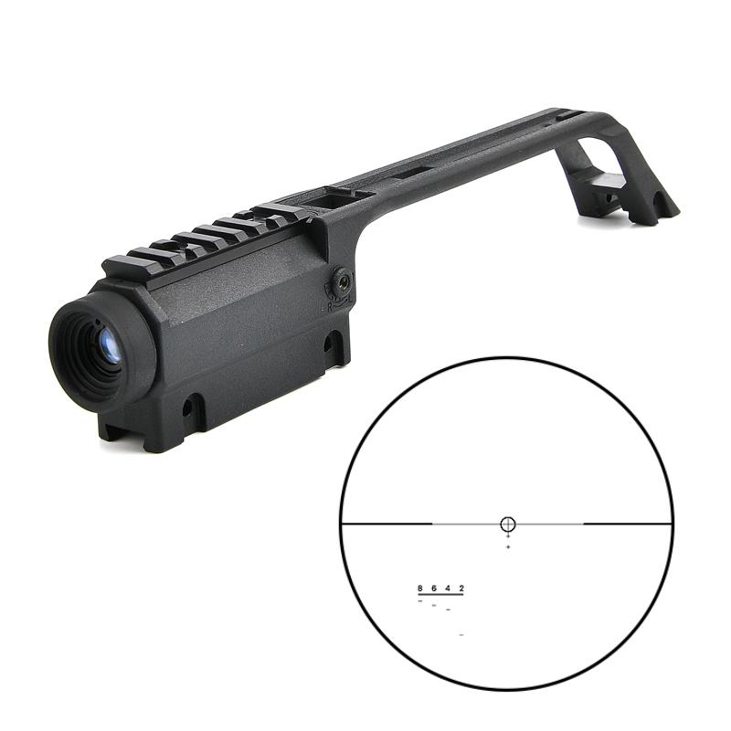 Nuevo 3.5x20 G36 Cross High Quality Rifle Scope para MP5 Metal Sight Weaver Rail Mount