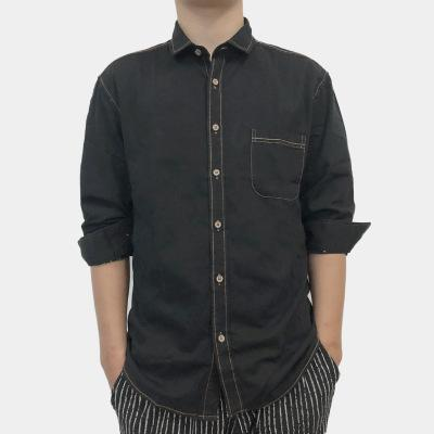 21fec63abae0 Hawaiian Casual Men's Formal Shirts Cotton Cufflinks Summer Slim Fit Long  Sleeve Mens Streetwear Men Dress Shirt Clothing 2019