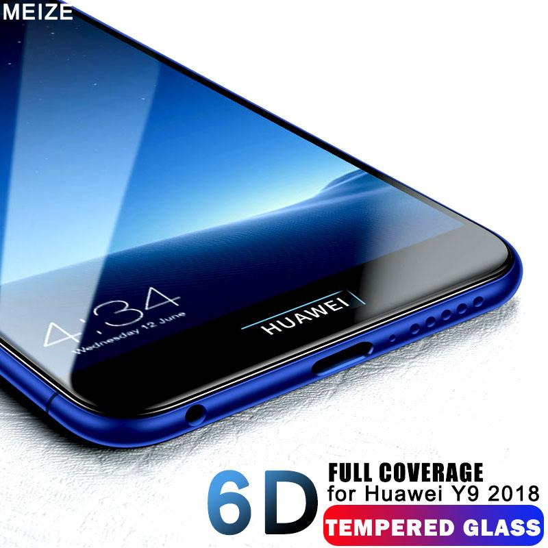 6D Advanced Protectiv glass huawei y9 2018 Screen Protector huawei y7 prime  2018 glass y9 y7 prime tempered