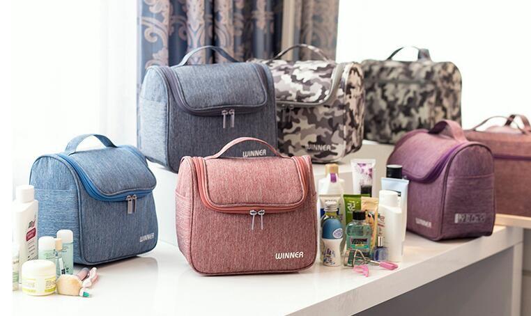 ae3441f061 Travel Wash Bag Waterproof Cosmetic Bag Men And Women Portable ...