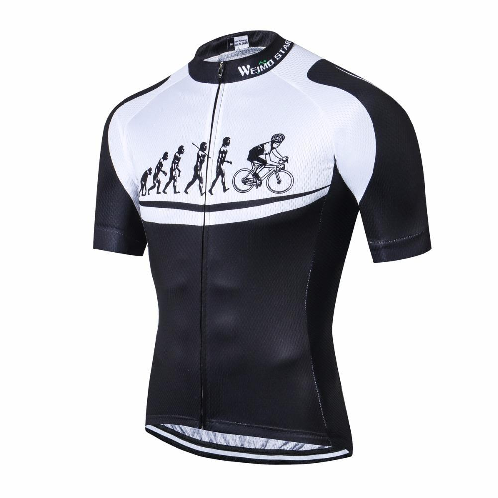 Cycling Jersey Men MTB Bike Short Sleeve USA Shirt Bicycle Sport Clothing Tops