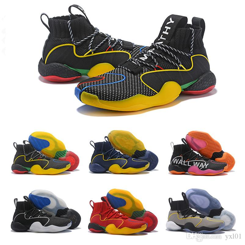 ee7965888 New Pharrell X Crazy BYW Gratitude Empathy Harden VIP Mens Basketball Shoes  For High Quality Multicolor Designer Sneakers Size 40 46 Carmelo Anthony  Shoes ...