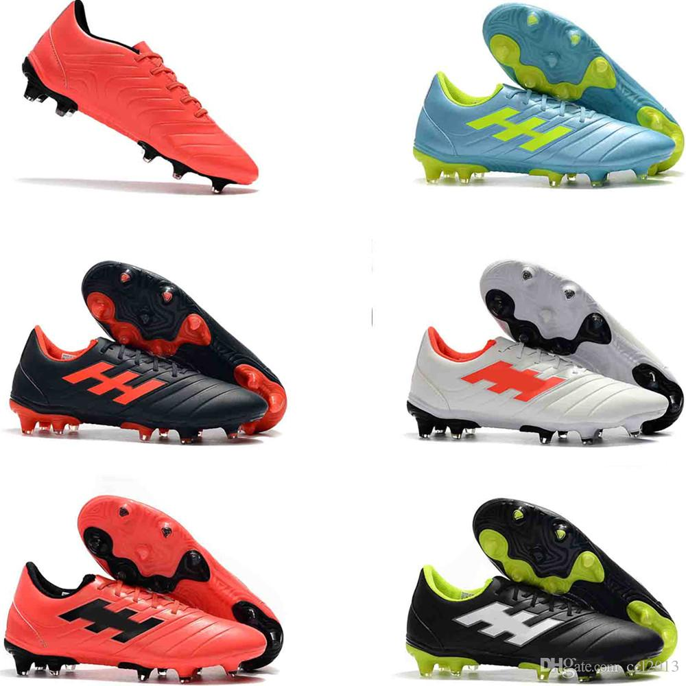 bfd80fac2 High-end 2019 Mens Low Ankle Football Boots Copa 19+FG Outdoor ...