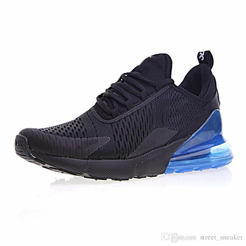 NIKE Air Max 270 2019 Para Mujer Para Hombre Amante Del Estilo Triple Negro  270 AH8050 Trainer Sports Running Shoes Zapatillas De Deporte Tamaño 40 45  Por ... 9e7ad38537bcf