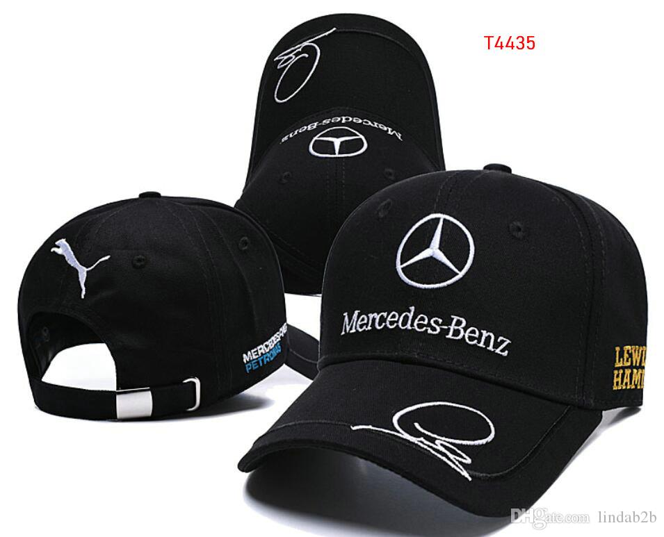 82e7bde5b7d 2019 New Sale Mercedes Benz Bone Gorras Snapback Hat F1 Champion Racing  Sports AMG Automobile Trucker Men Hat Adjustable Golf Cap Sun Hat 11 UK  2019 From ...