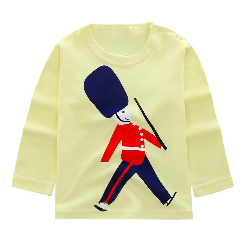 2018 new baby girl and boy clothes t shirt long sleeve kidsT-shirt quality 100% cotton children cartoon clothes tops