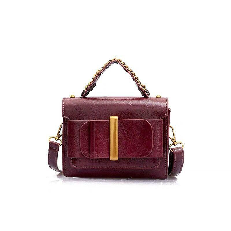 a3c210f9401 Vintage Fashion Lady Mini Tote Bag 2019 New High Quality Pu Leather Women's  Luxury Handbag Portable Shoulder Crossbody Bag