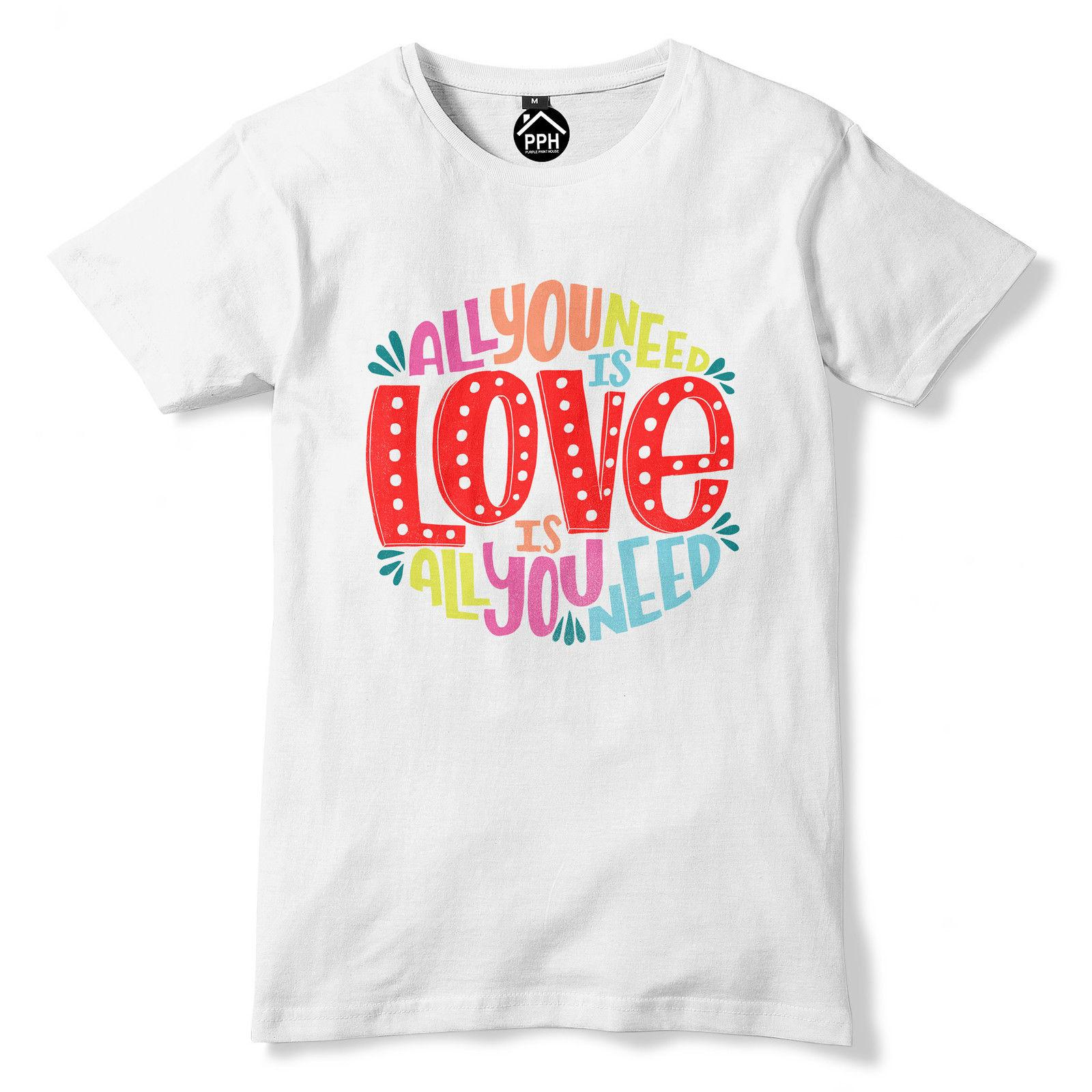 4208aecf All You Need Is Love Music T Shirt Bible Quote Song Lyric Top Mens Womens  390 T Shirt T Shirt Top Tee,Hipster O Neck Casual T Shrits Tshirts Designs  From ...