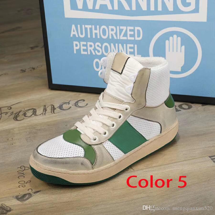 Martin Bottes 100% cuir Hommes Casual Shoes Stroke Bandage Plat Bottes Fashion Gym Bottes Short Bottes Retro Femmes Sports Chaussures de grande taille 35-42-45