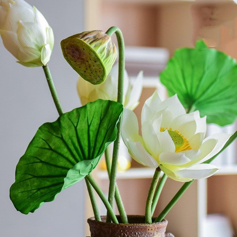 Acheter 2019 Livraison Gratuite Simule Lotus Lotus Bourgeon Lotus