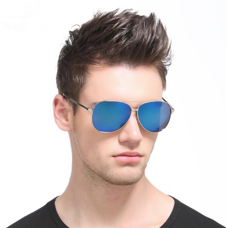 cfaadb90e9ef men eyewear drive googles Men\'s New Polarized Sun glasses Classic Frog  Mirror 8009 Sunglasses Driving Glasses a363
