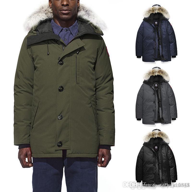 2fe5bc31cea3 Canada Warm Brand Mens Veste Homme Outdoor Winter Jassen Outerwear ...