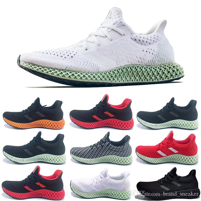 0812aa650098 2019 Luxury Designer Trainers AlphaEdge 4D LTD Print Technology Running  Shoes Ash Green Black White Men Fashion Sneakers Sport Shoes Race Runners  From ...