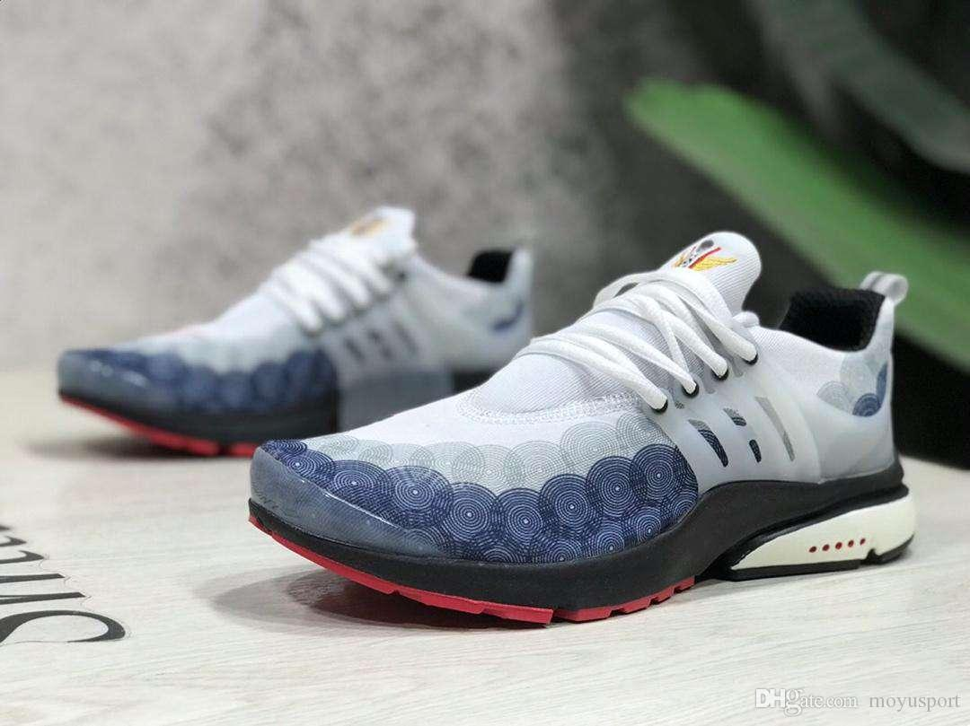 2019 New High Quality Presto Casual Shoes Ultra BR QS Graffiti Prestos Outdoor Jogging Mens Trainers Sneakers Size 40 45
