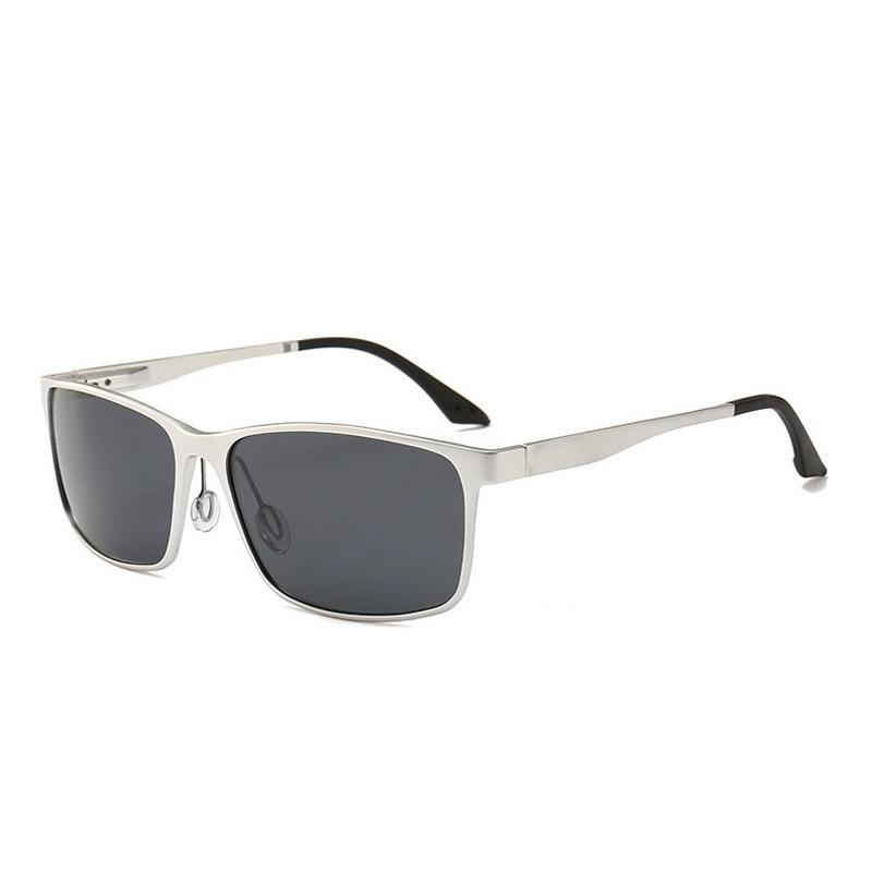 d009f52159 Yok s Brand Polarized Sunglasses Men Rectangle Classical Aluminium ...