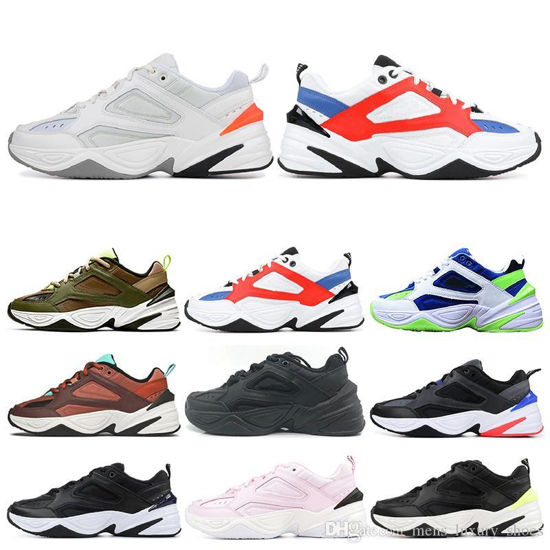 Nike M2K Tekno Nuevo Monarch M2K Tekno Dad Hombres Zapatos para mujer zapatillas de deporte de diseño Zapatillas zapatillas de deporte zapatillas de