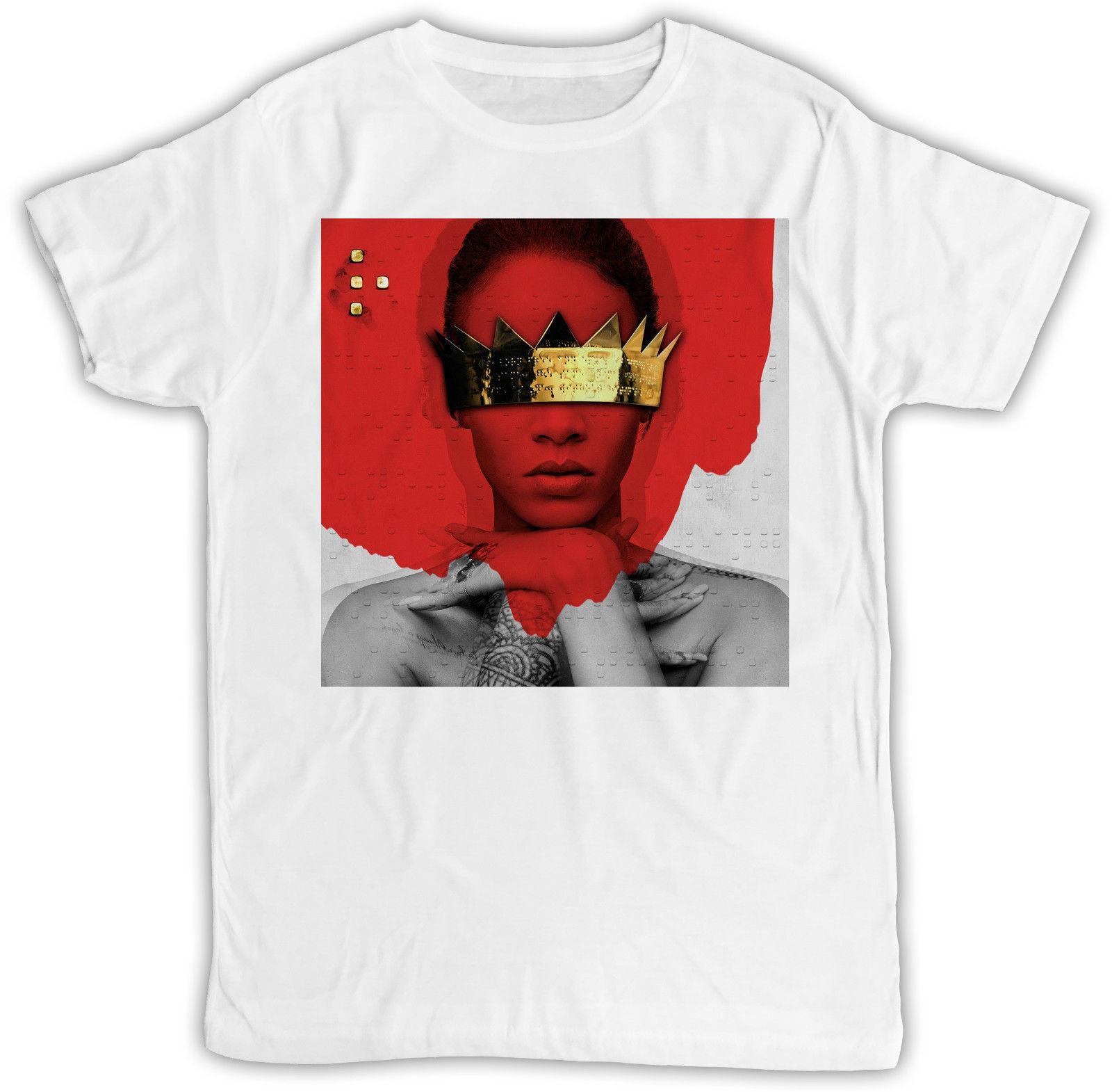 Rihanna Anti Ideal Gift Retro Cool Designer Short Sleeve Mens T