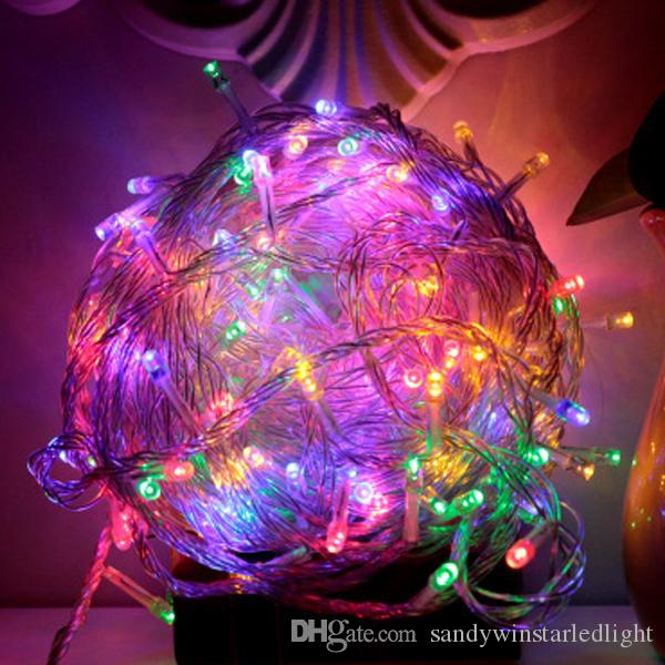 Christmas light Holiday Crazy Sale Outdoor 10m 100 LED string multi color RGB Fairy Lights Waterproof Party Christmas Garden light