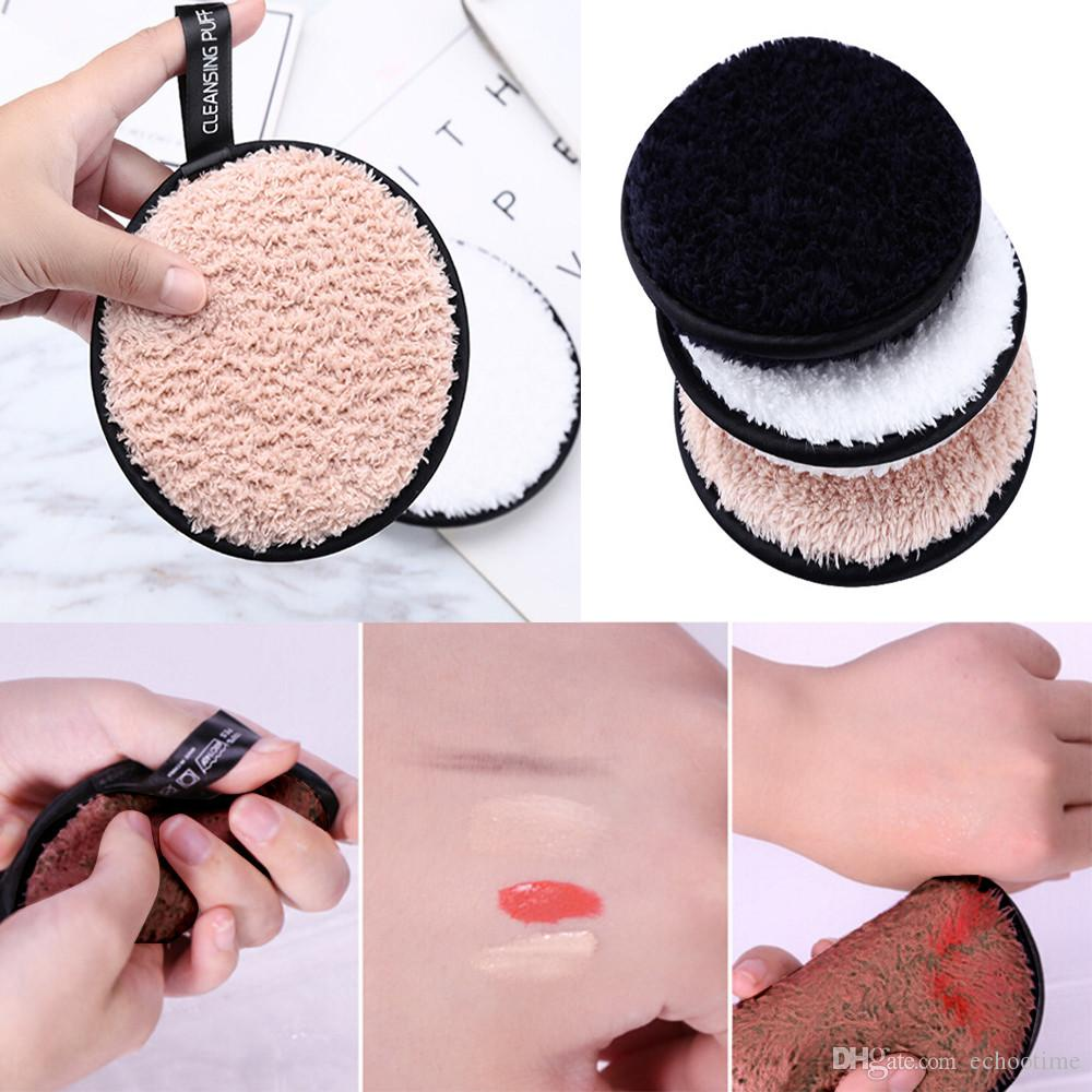 1000pcs Magical Makeup Remover puff Microfiber Cloth Pads Remover Towel  Face Cleansing Makeup For Women promotes health beauty tool