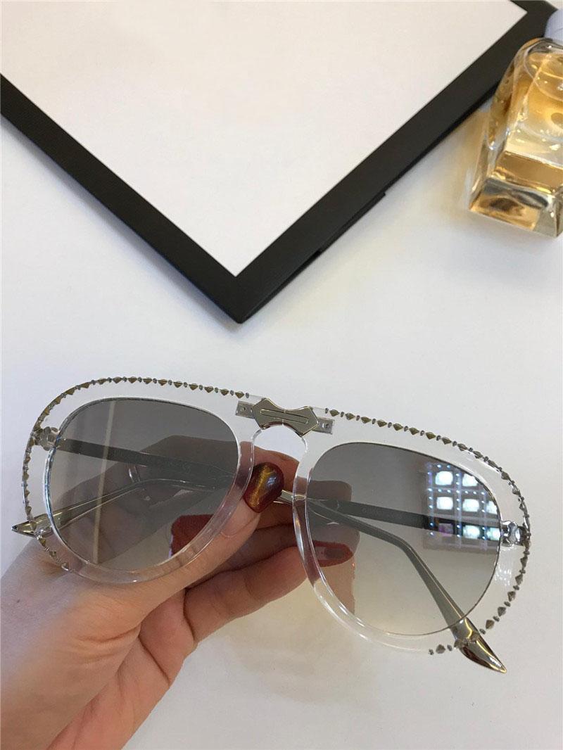 651368149b Compre 2019 Nuevo Diseñador De Moda Con Gafas De Sol 0307 Piloto De Montura  Plegable De Acetato Con Estilo Popular Vanguardista De Vanguardia De Verano  400 ...