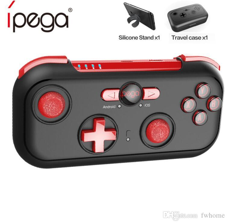 iPega PG-9085 PG 9085 Bluetooth Game Controller Pad Red Wizard Wireless  Gamepad Joystick Gaming Console For Android/ iOS/ Nintendo/ Switch