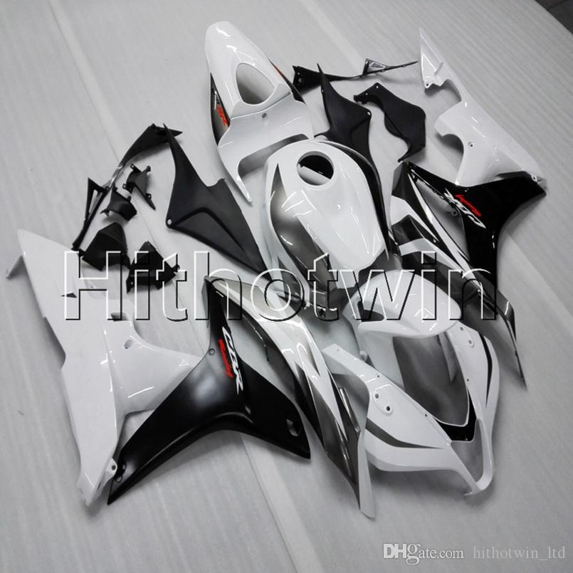 Botls Injection Mold White Black Motorcycle Cowl Fairing For HONDA