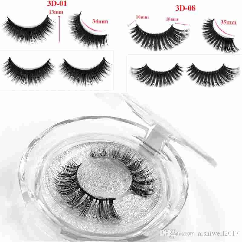 54e8758ed31 36 Style Mink Lashes 3D Mink False Eyelashes Long Lasting Lashes Natural  Lightweight Mink Eyelashes Glitter Packaging New Lash Extensions Red Cherry  Lashes ...