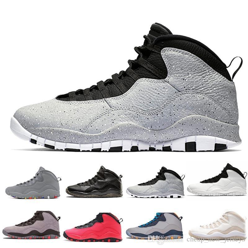 146061fe42ac Cement Westbrook X I M Back 10 10s Men Basketball Bobcats Chicago Cool Grey  Powder Blue Steel Grey Black White Shoes Sport Sneakers 41 47 Kd Basketball  ...