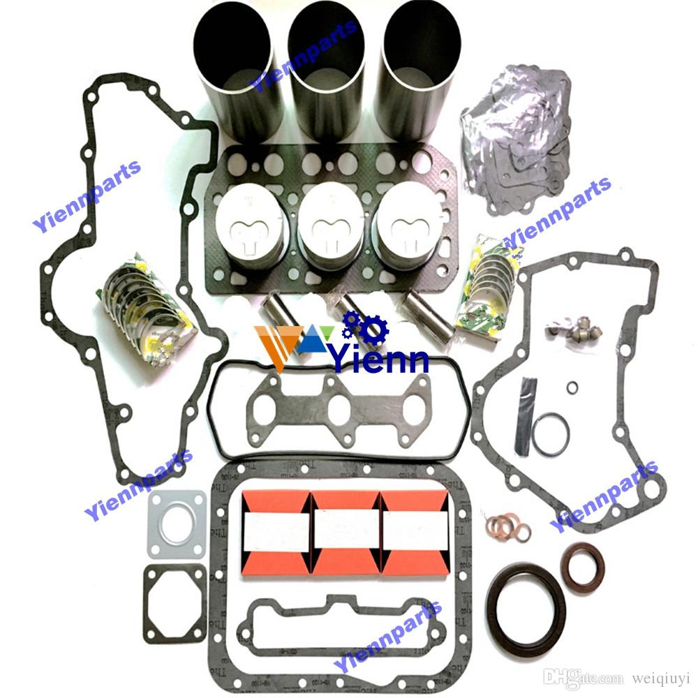 K3E engine overhaul rebuild kit with Indirect injection piston for  Mitsubishi diesel engine repair spare parts