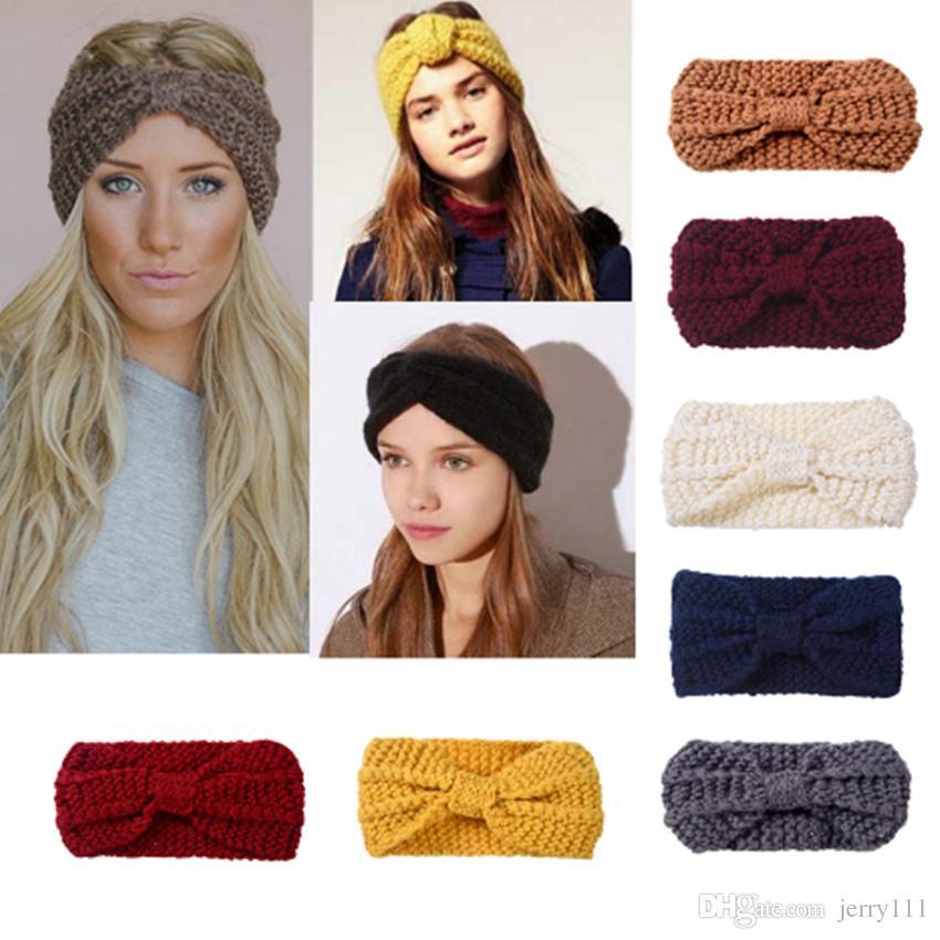 73e6ef30d1b Lady Cozy Thick Knit Headband Turban Ear Warmer For Women Winter ...