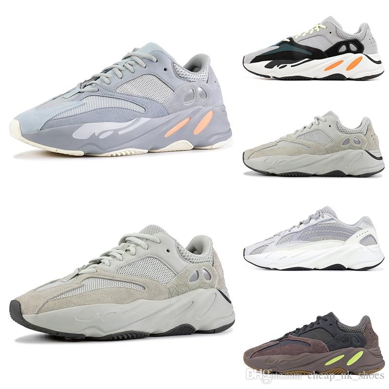 1d140a768dd Hot Sale 700 Wave Runner Running Shoes For Men Women INERTIA Salt Static 3M  Reflective Mauve Multi Solid Grey Mens Trainers Sports Sneakers Sale Shoes  Men ...