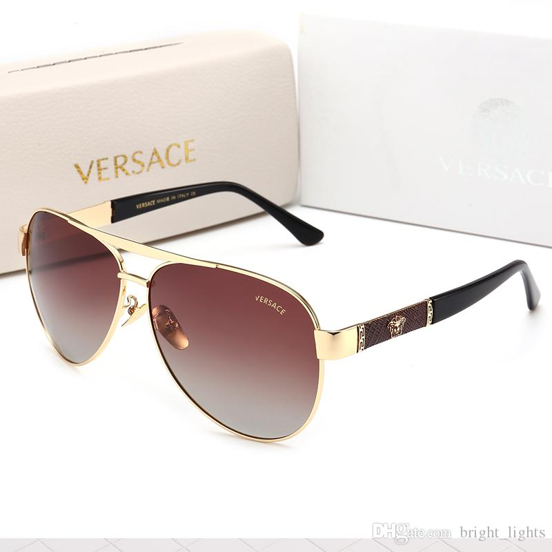 popular sunglasses luxury women's wear brand designer square summer full picture frame quality anti uv