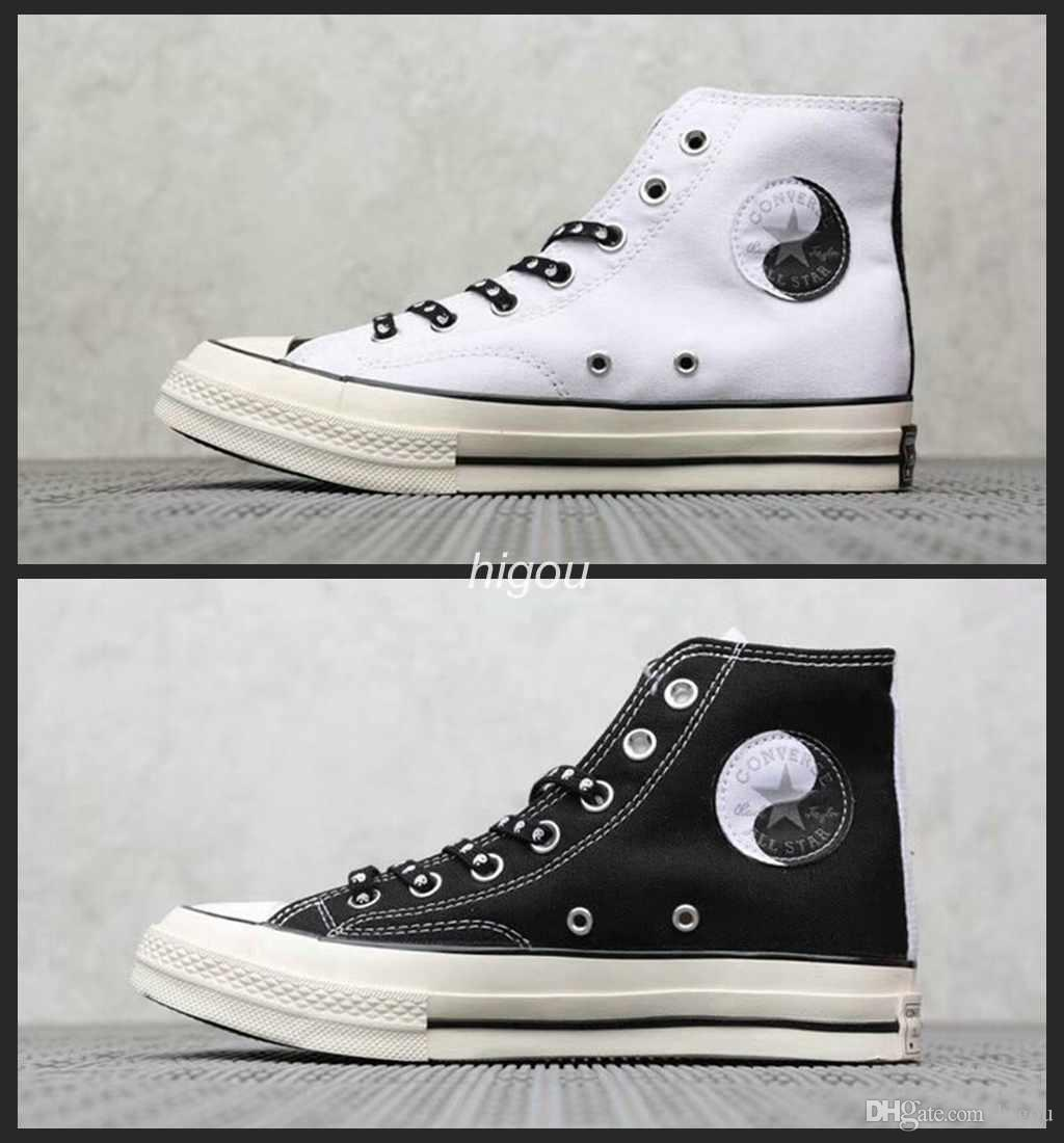 211e0b1916 2019 New Converse Chuck Taylor All Star 1970 Hi Canvas Shoes White Black  Purple Men Women Running Designer Casual Sneakers 36-44