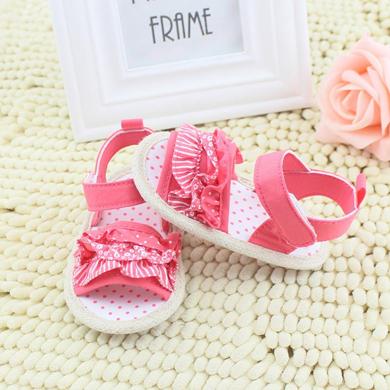 cbb4a4f62 Lovely Toddler Baby Girl Sandals Summer Soft Sole Shoes Sandals 0 ...