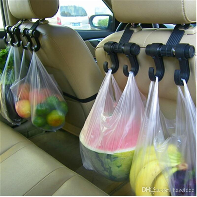 hot sale 1 pcs Car Hanger Auto Bags Organizer Hook Accessories Holder Clothes Hanging Holder Seat Help car-styling