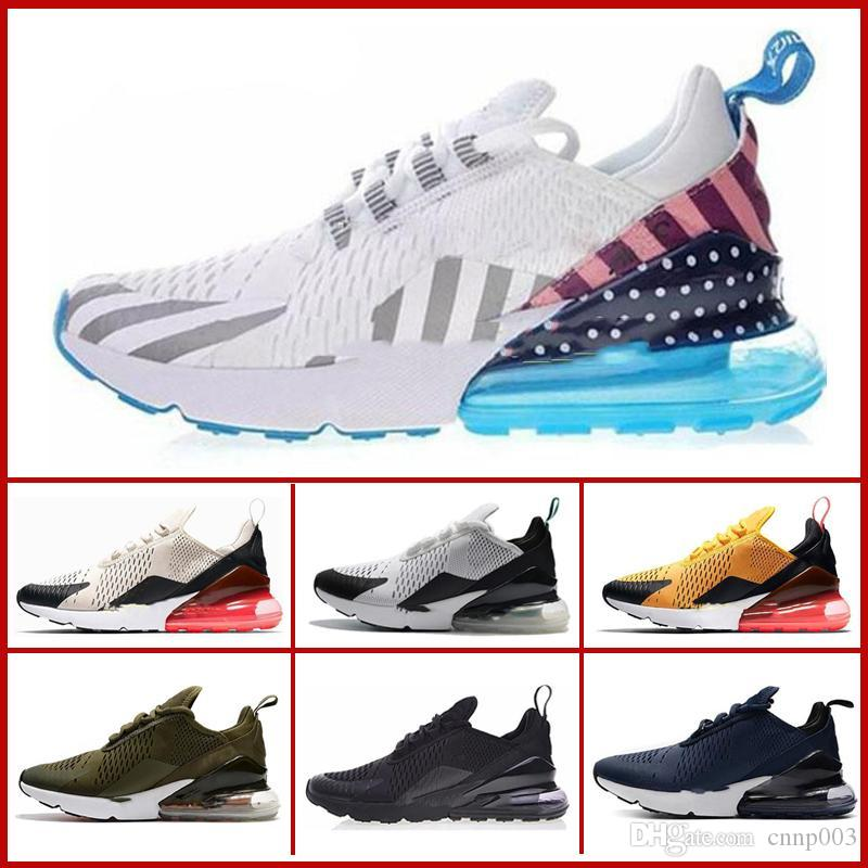 nike air max 270 27c airmax 2019 Cushion Sneaker Designer Zapatos casuales 27c Trainer Off Road Star Iron Sprite Tomate Hombre General para hombres,