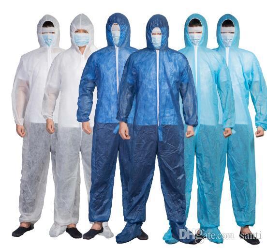 Tuta Hazmat Tuta protezione monouso Anti-Virus abbigliamento monouso fabbrica di abbigliamento di sicurezza