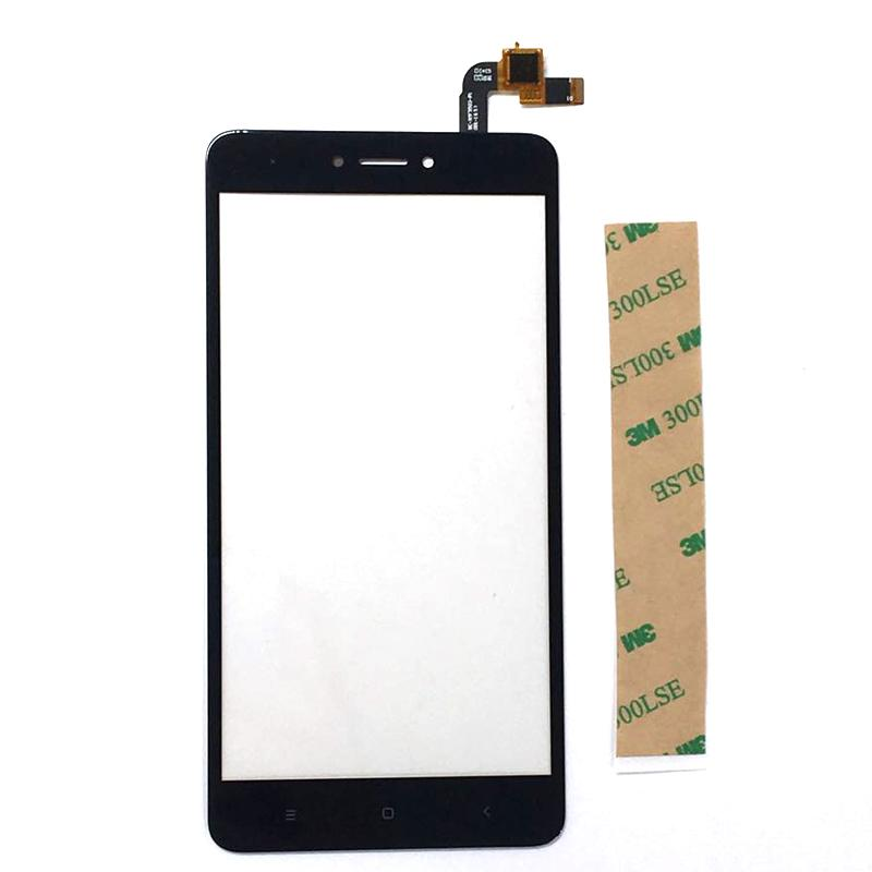 A Quality For Xiaomi Redmi Note 4X TouchScreen Front Glass With Sensor Replacement