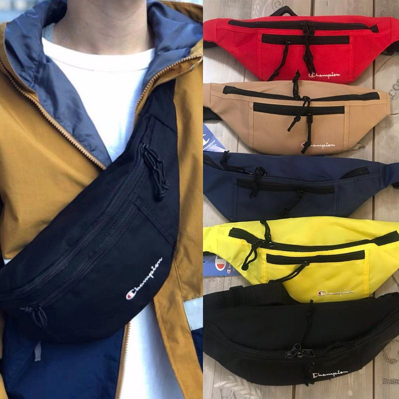 115b8dad6 Champions Mens Women Oxford Fanny Pack Classic Waist Bag Solid Color Belt  Chest Bags Letter Print Bumbag Zipper Card Holder C3278 Small Ladies  Backpack ...