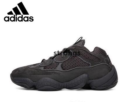 b1ac8819426 2019 Original Adidas Air Yeezy 500 Blush Running Shoes Athletic DMX  CONFIRMED Desert Rat Runner Kanye West 500s Super Moon Yellow Salt Utility  Black DB2966 ...