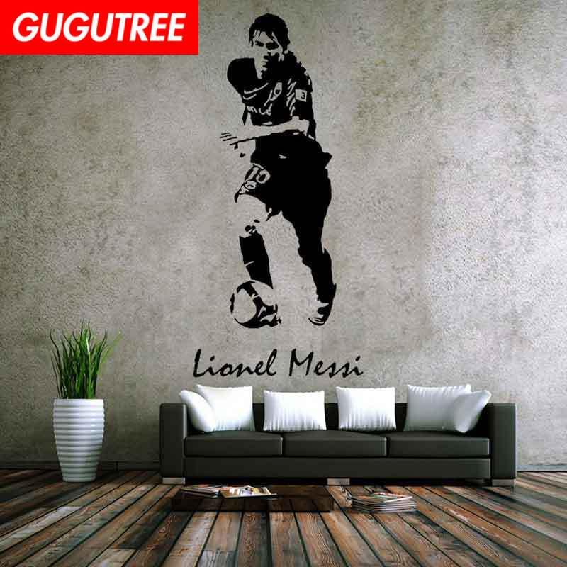 Decorate Home football cartoon art wall sticker decoration Decals mural painting Removable Decor Wallpaper G-2079