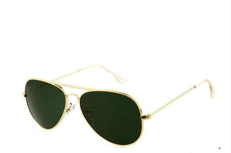 ae947b5e775 Hot Sale Aviator Sunglasses RAY Vintage Pilot Brand Sun Glasses Polarized  UV400 Bans Men Women Mirror 62mm Glass Lenses Mirrored Sunglasses Heart  Sunglasses ...