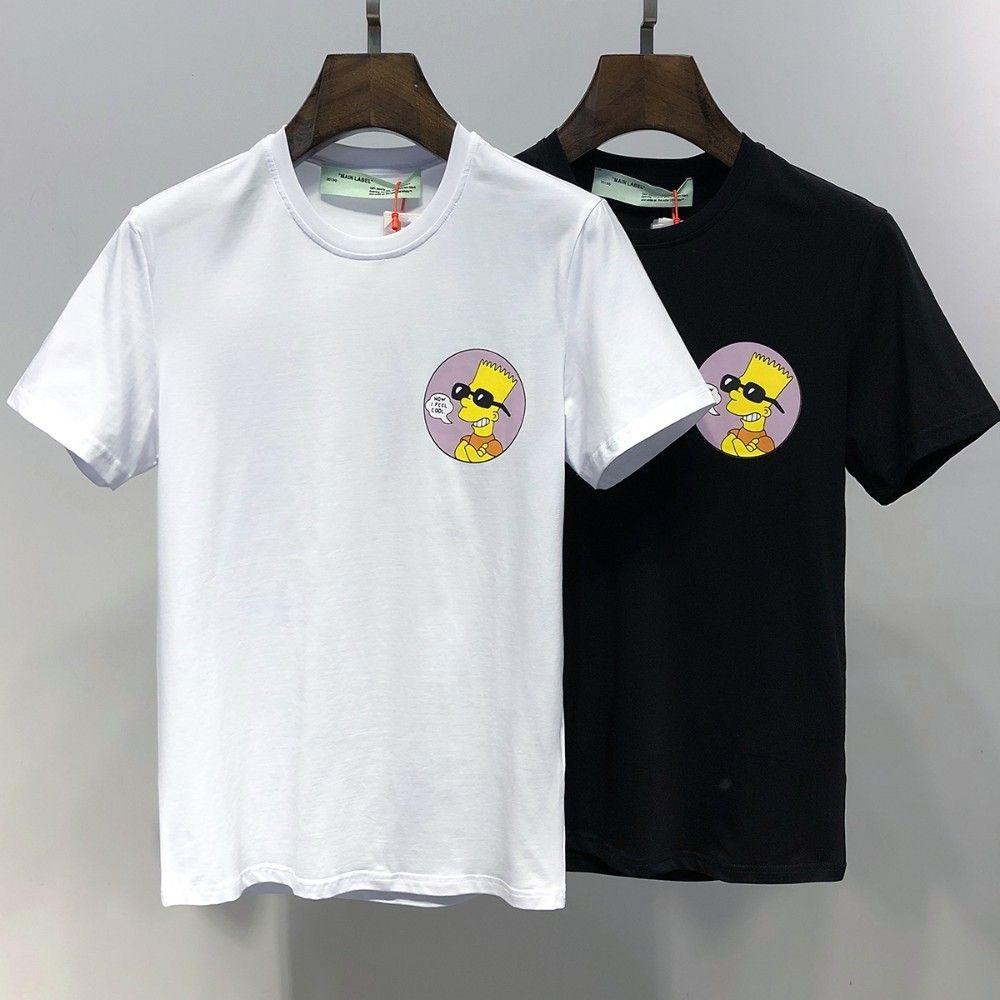 Men Fashion Short Sleeved T Shirts Mens Luxury Brand Designer T