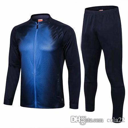 f3c3e7872 2018 2019 Italy Tracksuit Training Suit PIRLO BUFFON DE ROSSI BELOTTI  Soccer Jerseys Kit Italy Football Jacket Tracksuit Set Men UK 2019 From  Cola22